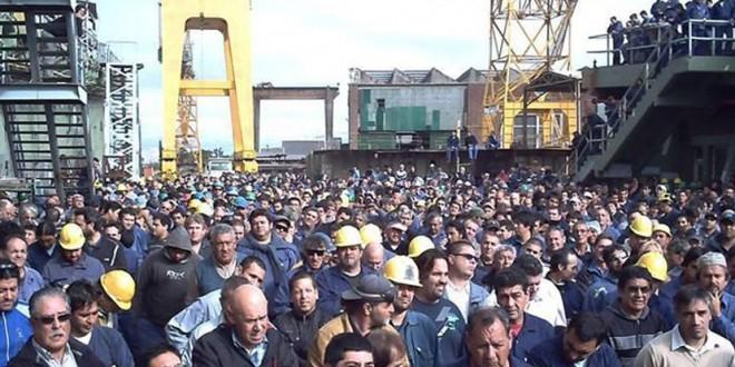 Trabajadores del Astillero Río Santiago celebraron nuevas autoridades y salen a buscan financiación - Gestión Sindical