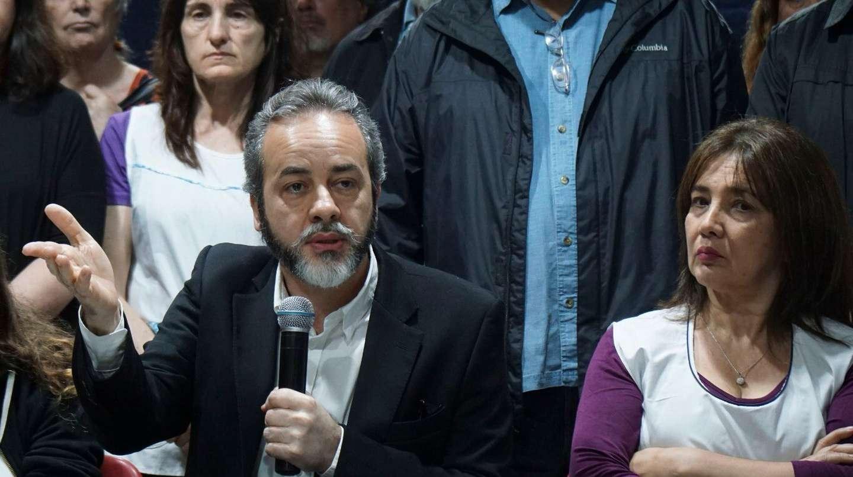 Eduardo López, secretario adjunto de UTE