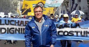 Hugo Melo, secretario general de la UOM de La Matanza