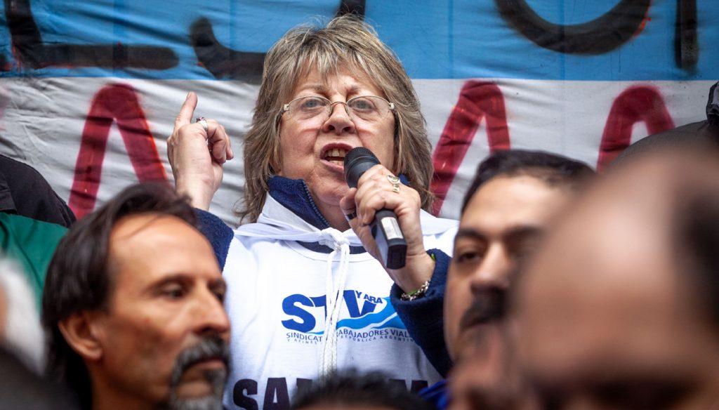 Graciela Aleñá, secretaria general del Sindicato de Viales