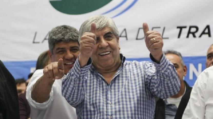 Hugo y Pablo Moyano, líderes del gremio de Camioneros