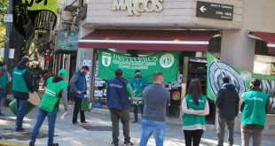 Pasteleros exige a una importante confitería de Palermo que cumpla en convenio colectivo
