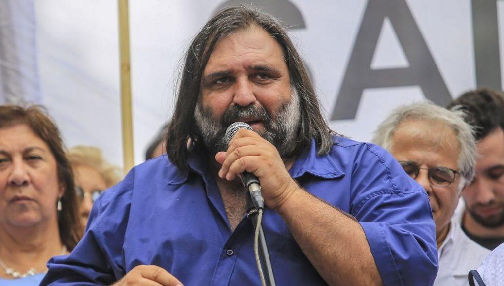Roberto Baradel apuntó contra Larreta