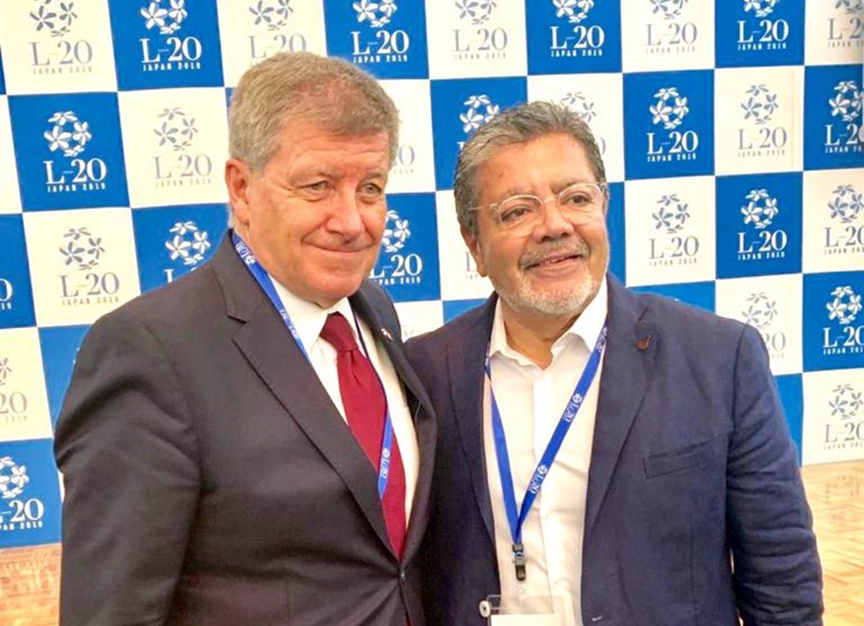 Gerardo Martínez en la OIT