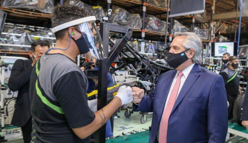 El Gobierno también expresó su apoyo a los gremios industriales
