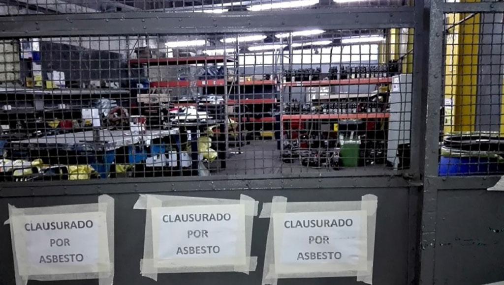 Asbesto en el Subte