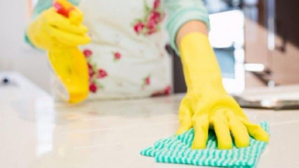El promedio de personal del servicio doméstico remunerado presentó en el cuarto trimestre una caída del 21,6% relacionado al mismo período de 2019