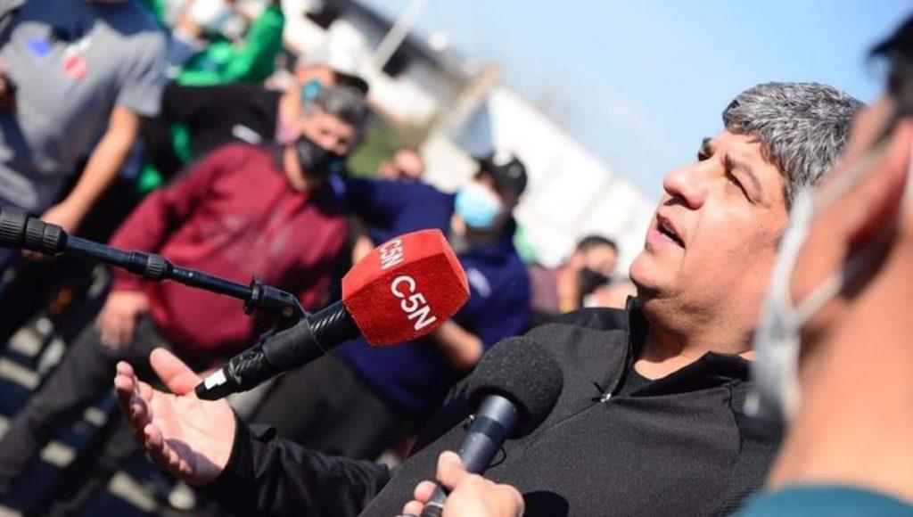 Pablo Moyano en el conflicto de Garbarino