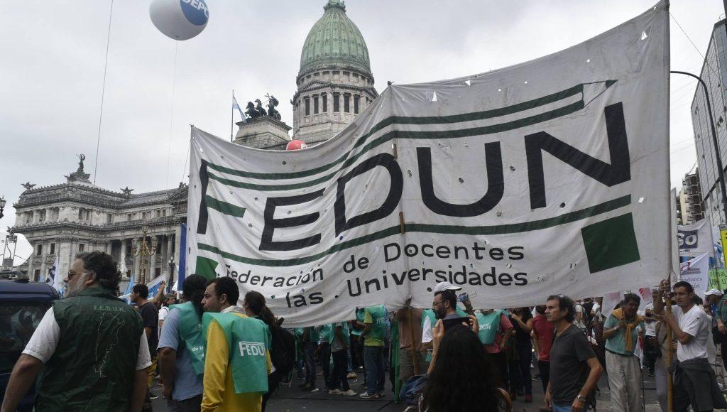 Fedun presentó una carta para exigir la reapertura de paritaria