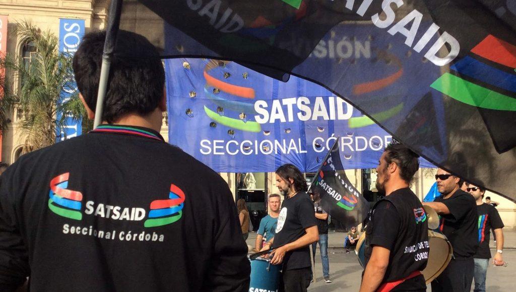 El SatSaid exigió un aumento del 50 por ciento para empleados de canales de aire y productoras
