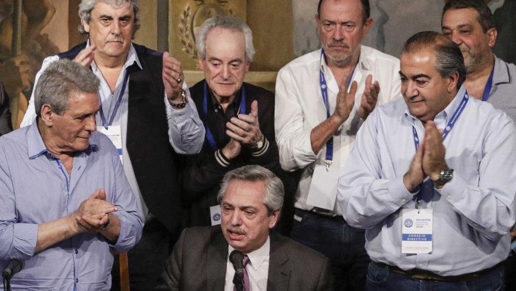 """Daer aseguró que la reunión de la CGT con Alberto Fernández """"fue una demostración de apoyo"""" al Gobierno"""
